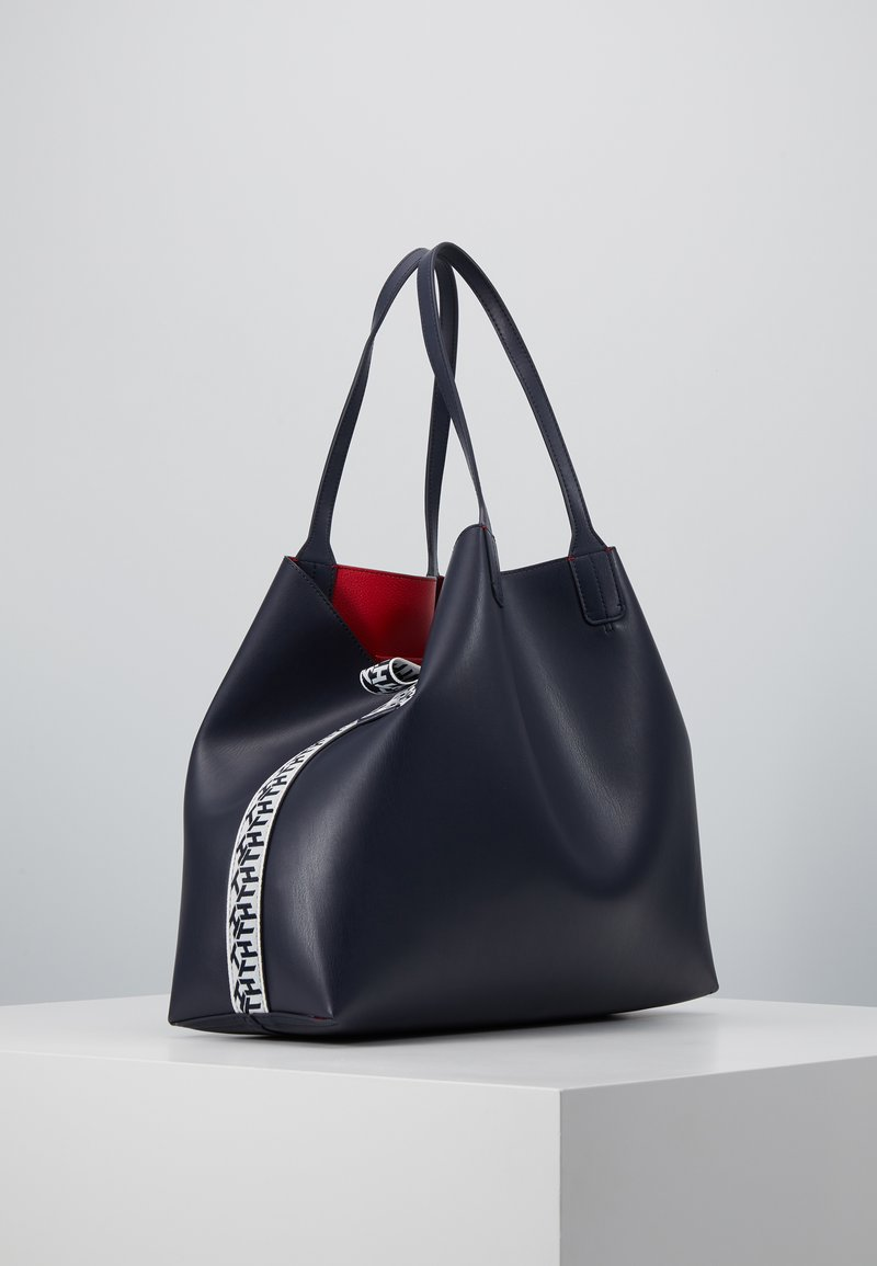 Tommy Hilfiger - ICONIC TOTE SET - Shopping bag - blue