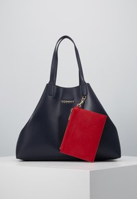 Tommy Hilfiger - ICONIC TOTE SET - Shopping bag - blue - 1