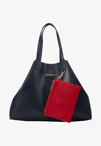 Tommy Hilfiger - ICONIC TOTE SET - Shopping bag - blue - 6
