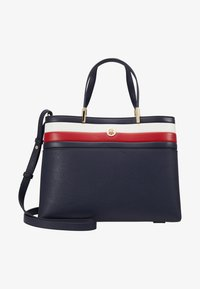 Tommy Hilfiger - CORE SATCHEL CORP - Handbag - blue - 1