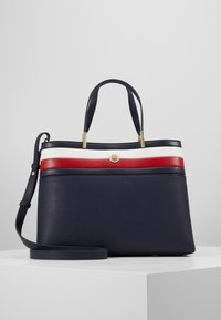 Tommy Hilfiger - CORE SATCHEL CORP - Handbag - blue - 0