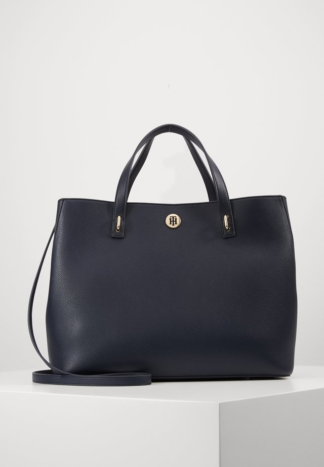 CHARMING TOMMY WORKBAG - Aktówka - blue