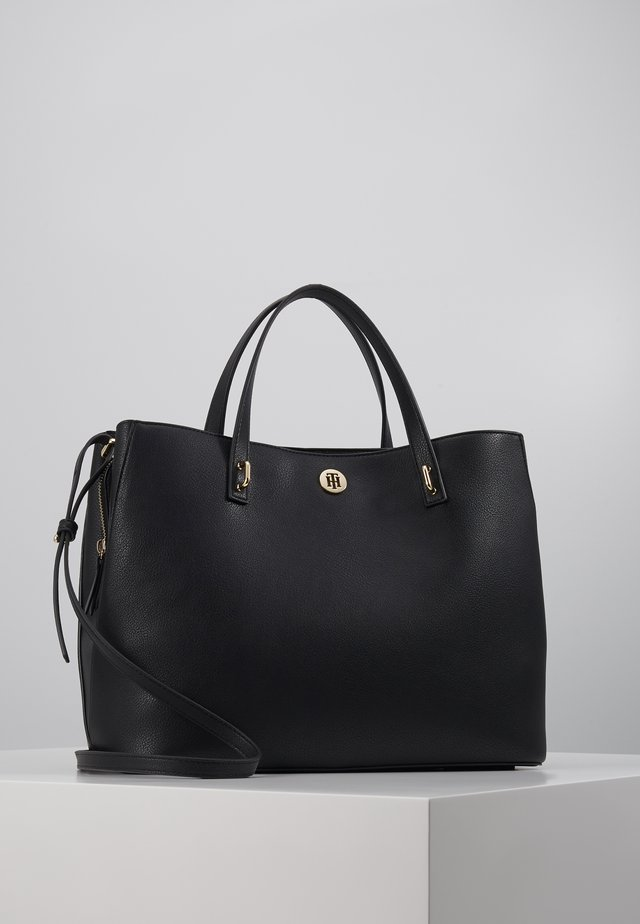 CHARMING TOMMY WORKBAG - Aktovka - black