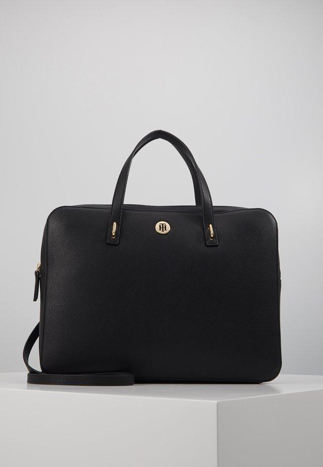 CHARMING COMP BAG - Tietokonelaukku - black