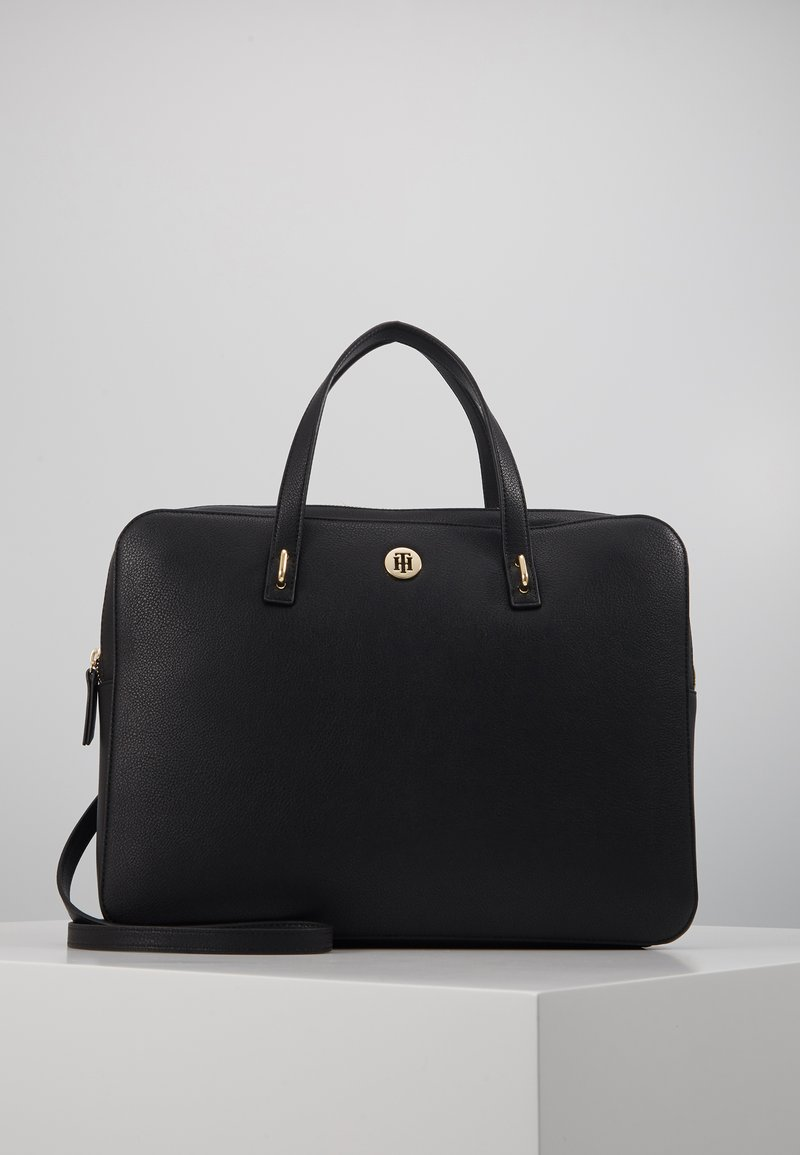 Tommy Hilfiger - CHARMING COMP BAG - Computertasker - black
