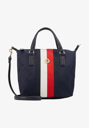 POPPY SMALL TOTE - Handbag - blue