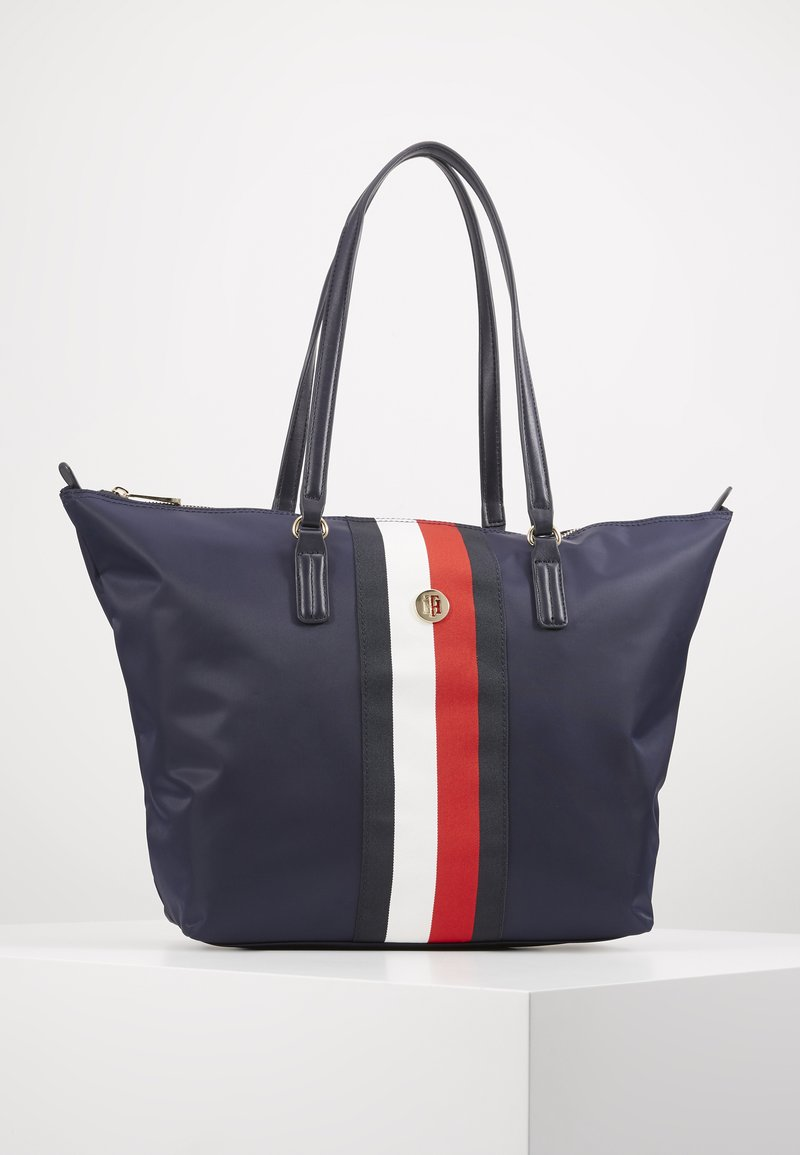 Tommy Hilfiger - POPPY TOTE CORP - Shopper - blue