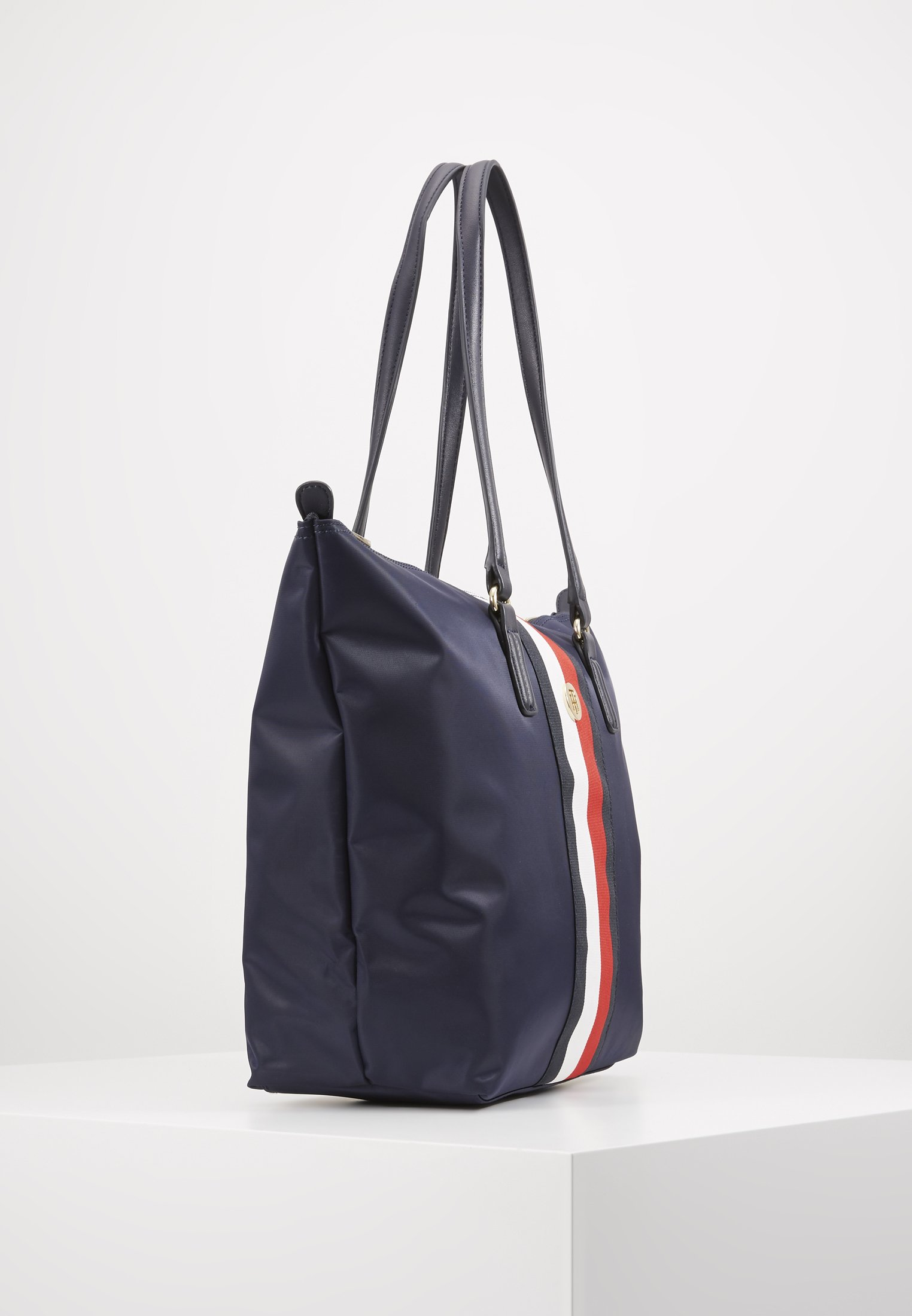 Tommy Hilfiger POPPY TOTE CORP - Bolso shopping - blue