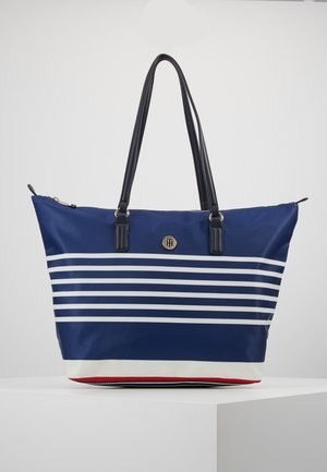 POPPY TOTE STRIPES - Shopper - blue