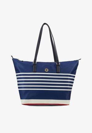 POPPY TOTE STRIPES - Shopping Bag - blue