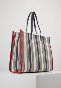 Tommy Hilfiger - BEACH BAG STRIPE - Shopping bag - white - 2
