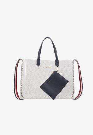 ICONIC TOTE TRANSPARENT - Shoppingväska - white