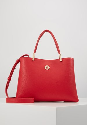 CORE MED SATCHEL - Borsa a mano - red
