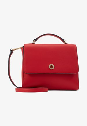 HONEY FLAP SATCHEL - Handbag - red