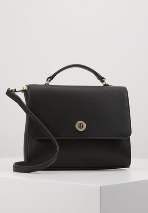 HONEY FLAP SATCHEL - Handtas - black