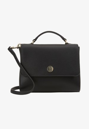 HONEY FLAP SATCHEL - Handbag - black