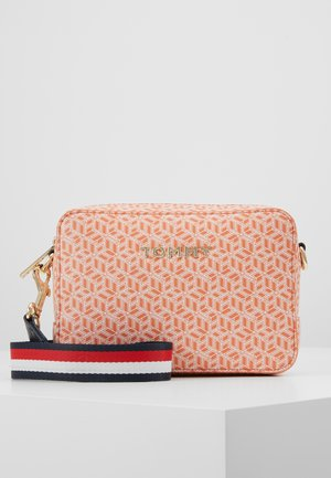 ICONIC CAMERA BAG MONOGRAM - Torba na ramię - orange