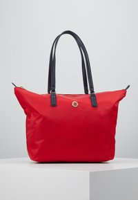 Tommy Hilfiger - POPPY TOTE - Handtas - red - 0