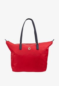 Tommy Hilfiger - POPPY TOTE - Handtas - red - 1