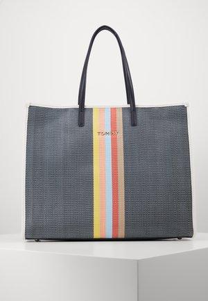 BEACH BAG - Tote bag - dark blue
