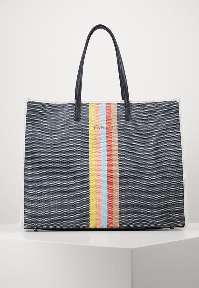 BEACH BAG - Shopping Bag - dark blue
