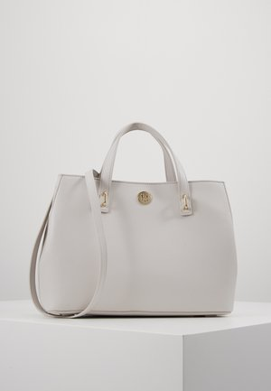 CHARMING MED WORK BAG SET - Kabelka - grey