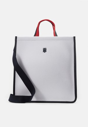 BINDING TOTE - Handbag - white