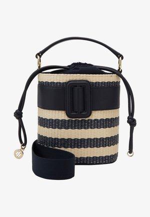 CHIC BUCKET RAFFIA - Handbag - beige