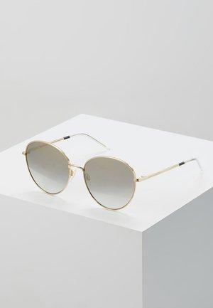 Gafas de sol - gold-coloured/black