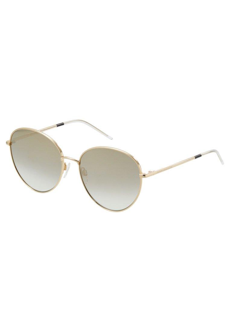 Tommy Hilfiger Okulary przeciwsłoneczne - gold-coloured/black