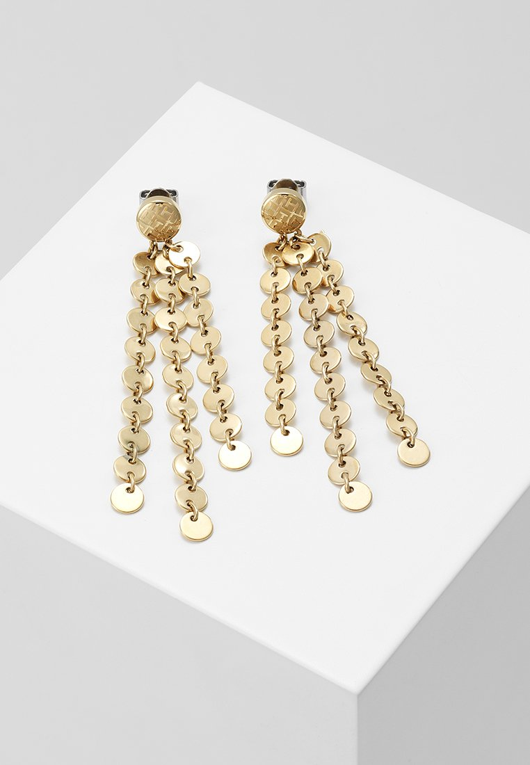 Tommy Hilfiger - FINE CORE - Earrings - gold-coloured