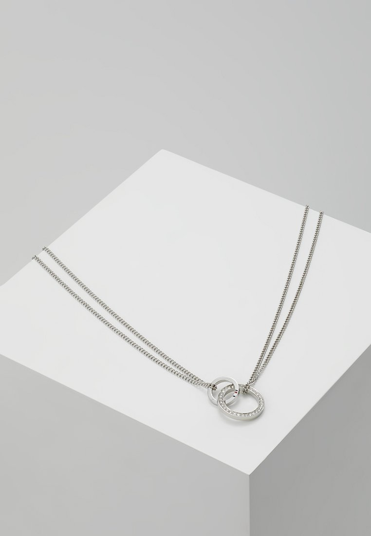 Tommy Hilfiger - DRESSED UP - Necklace - silver-coloured