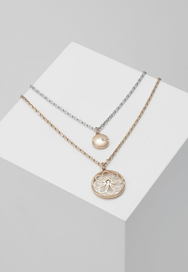 CASUAL CORE - Necklace - rose gold-coloured