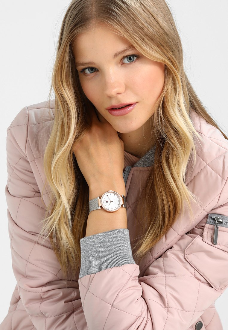 Tommy Hilfiger - SOPHISTICATED SPORT - Watch - rose gold-coloured/silver-coloured