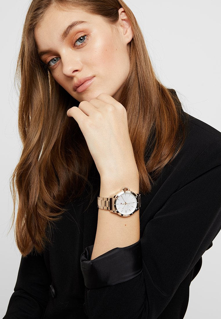 Tommy Hilfiger - LADIES DIVER - Watch - rose gold-coloured