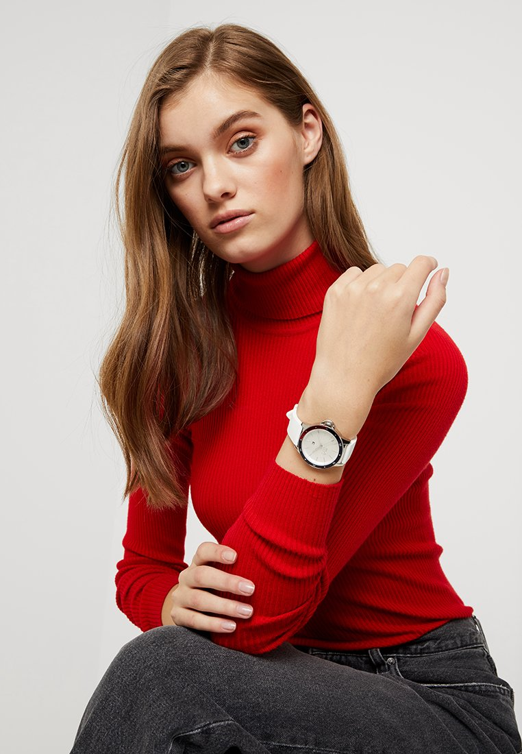 Tommy Hilfiger - LADIES DIVER - Hodinky - weiss