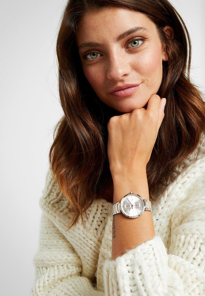 Tommy Hilfiger - DRESSED - Horloge - silver-coloured/roségold-coloured