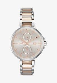Tommy Hilfiger - DRESSED - Klocka - silver-coloured/roségold-coloured - 1