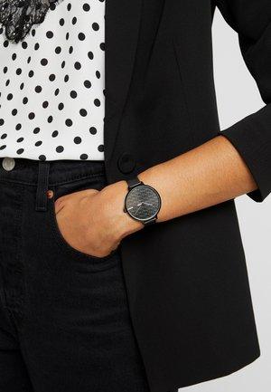 ALEXA - Uhr - schwarz
