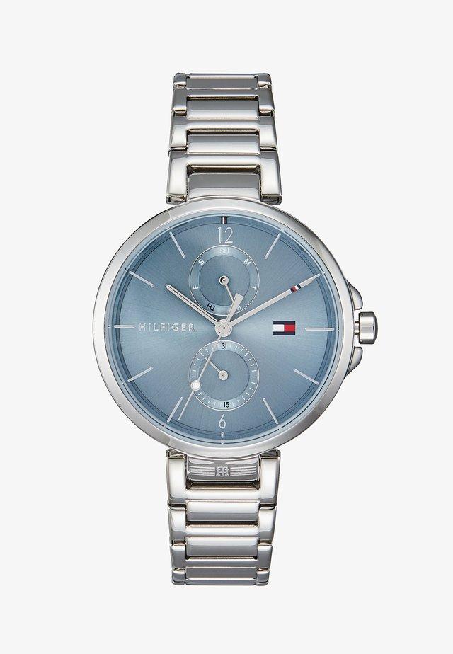 DRESSED - Horloge - silver-coloured