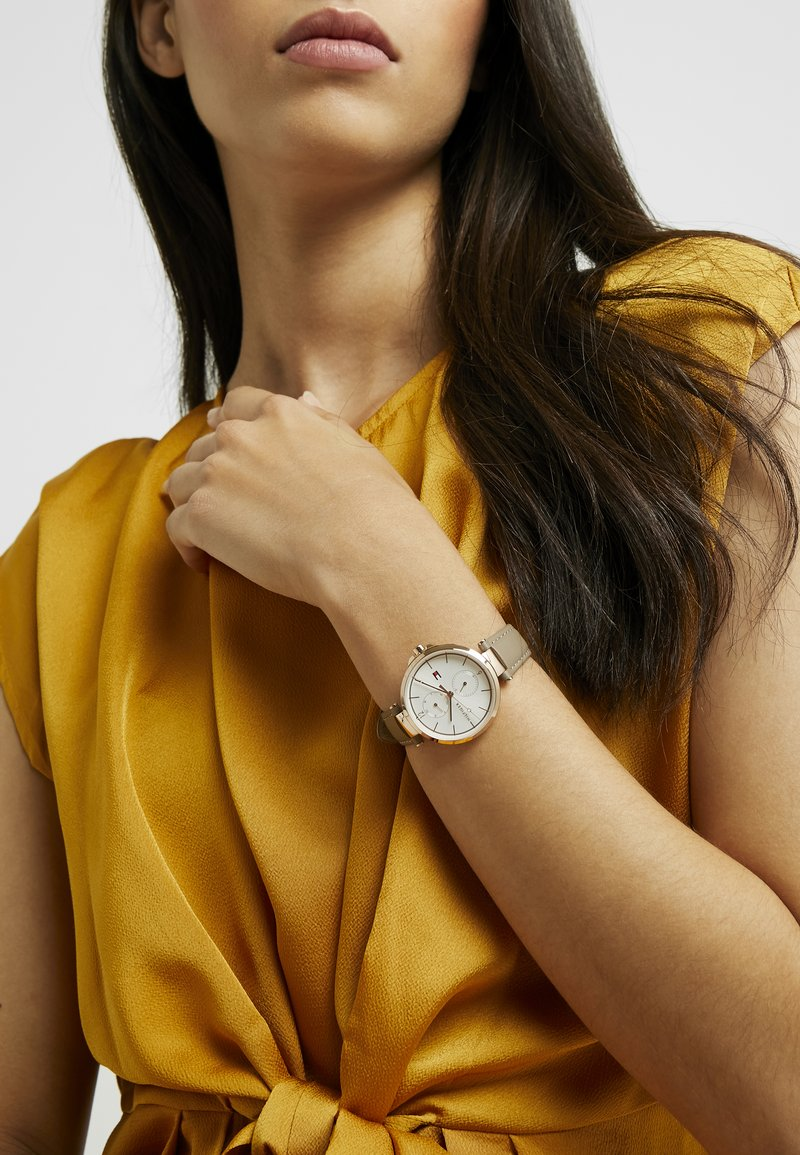 Tommy Hilfiger - ANGELA - Watch - taupe