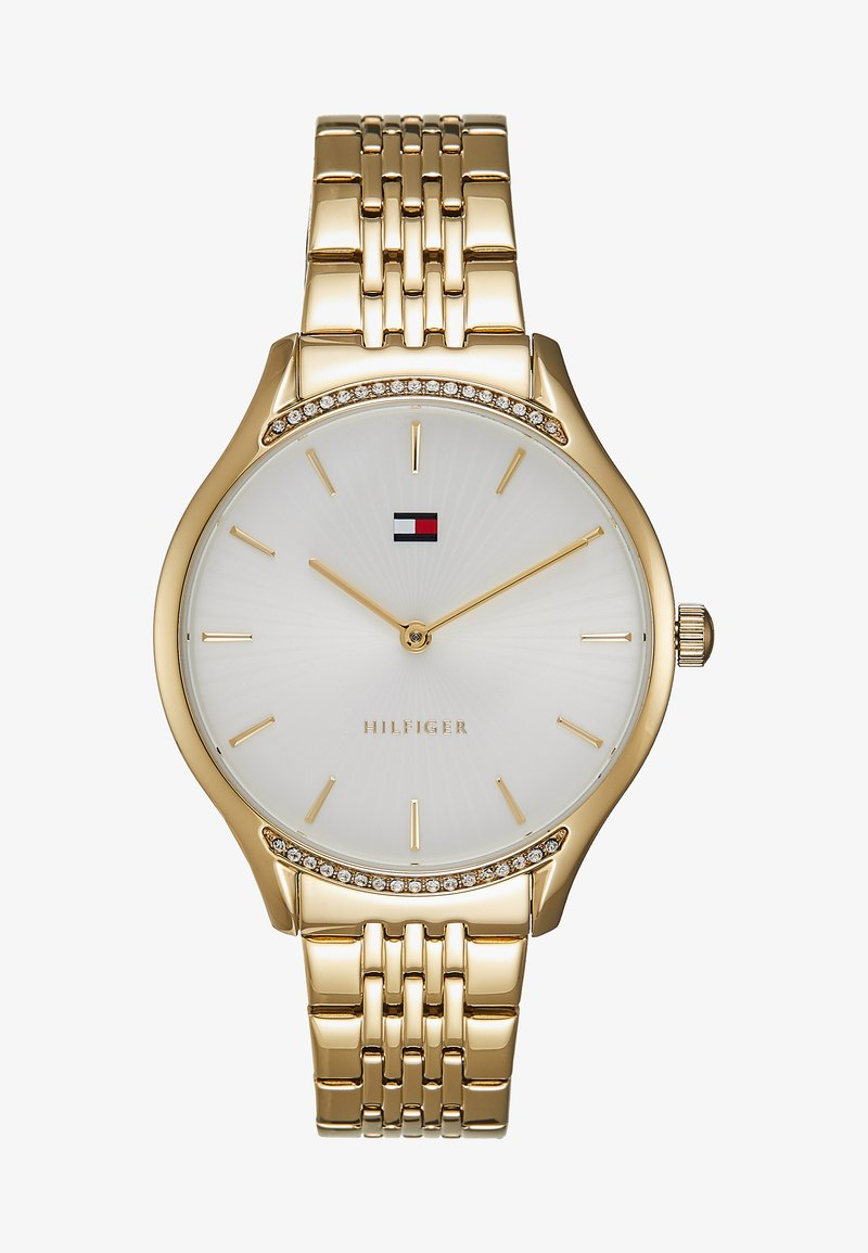 Tommy Hilfiger - GRAY - Hodinky - gold-coloured