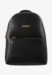 Tommy Hilfiger - ICONIC BACKPACK SOLID - Rucksack - black - 5