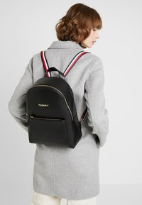 Tommy Hilfiger - ICONIC BACKPACK SOLID - Rucksack - black - 1