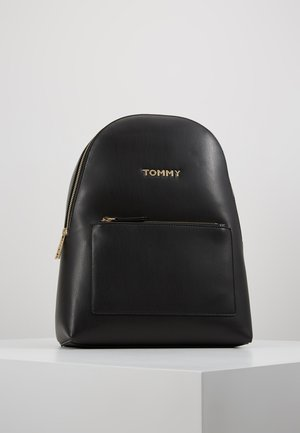 ICONIC BACKPACK SOLID - Ryggsekk - black