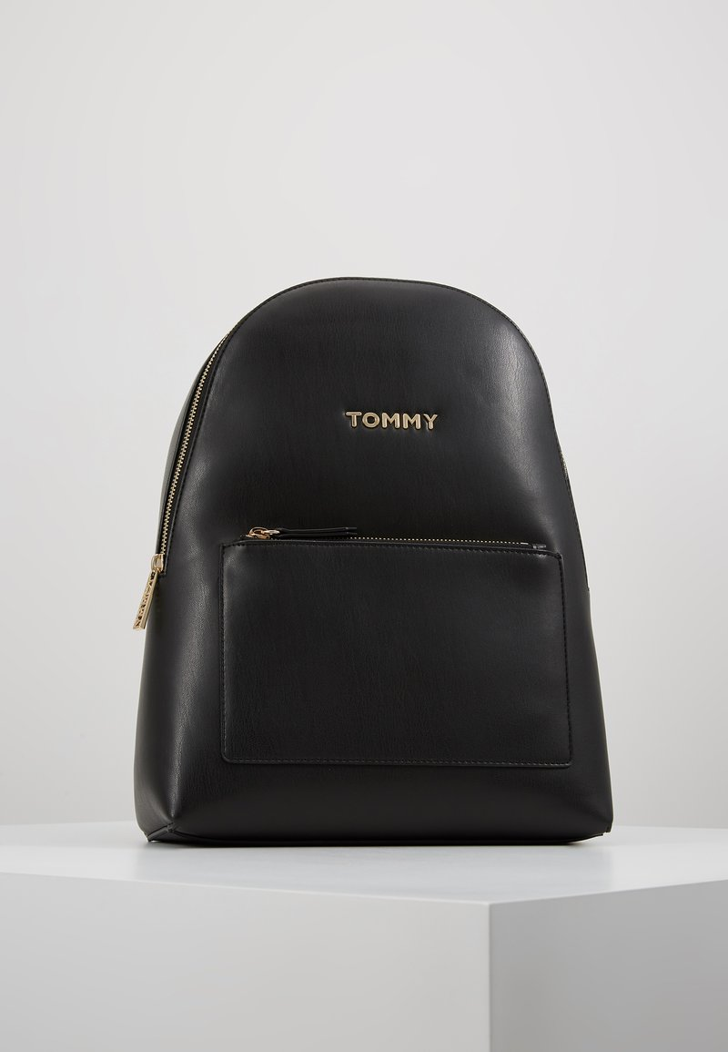 Tommy Hilfiger - ICONIC BACKPACK SOLID - Rucksack - black