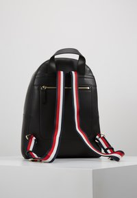 Tommy Hilfiger - ICONIC BACKPACK SOLID - Rucksack - black - 2