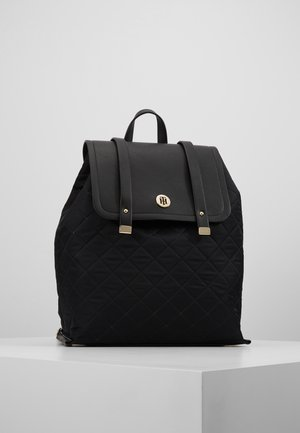 ELEGANT BACKPACK QUILTED - Ryggsekk - black