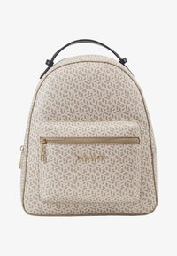 Tommy Hilfiger - ICONIC BACKPACK MONOGRAM - Reppu - beige - 1