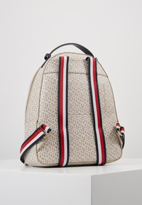 Tommy Hilfiger - ICONIC BACKPACK MONOGRAM - Reppu - beige - 3